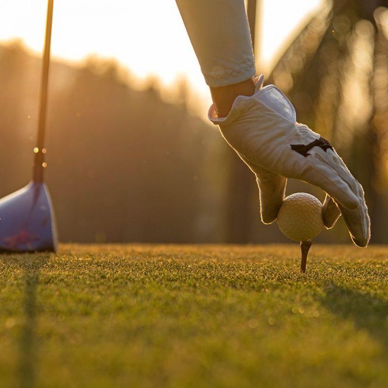 Départ de golf